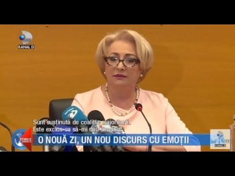 Stirile Kanal D (22.05.2018) - Viorica Dancila, un nou discurs VIRAL? Editie COMPLETA