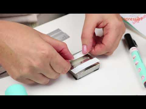 ImpressArt Tutorial | Stamp Straight Tape