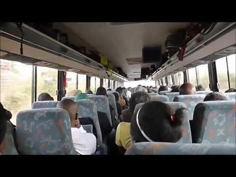 Quitter Ndola pour Lusaka, Août 2013