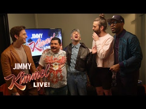 Queer Eye Guys Give Guillermo a Makeover