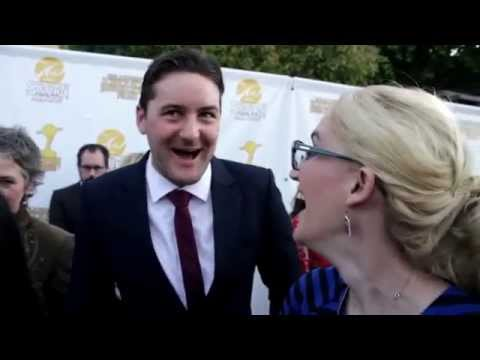 Fashionably Nerdy At The Saturn Awards: Emmett Skilton