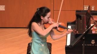 Recitativo and Scherzo Caprice Op. 6 for solo violin, by Fritz Kreisler