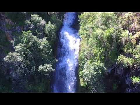 Bridal veil falls, Chimanimani, Zimbabwe. (Dji phantom drone).