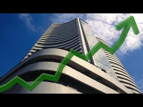 Sensex gains 126 pts, Rupee rises to 66.82