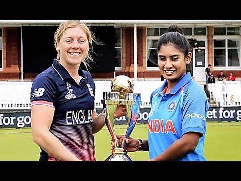 India v England  women cricket world cup match summary 2017 .