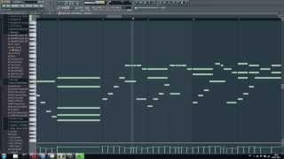 Evanescence - Bring Me To Life Piano Midi (FL Studio) + DOWNLOAD LINK