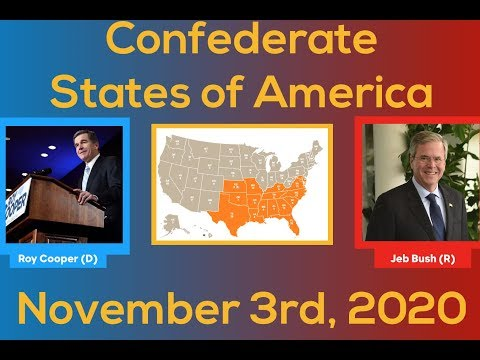 2020 Election Night | Confederate States of America