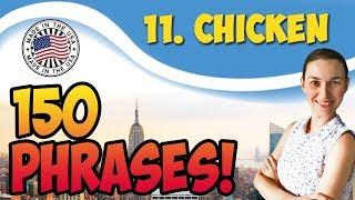 #11 Chicken - Трус 🇺🇸 150 английских идиом