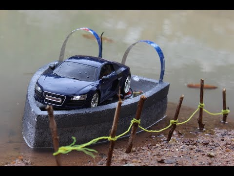 How To Make a DC motor Boat at home