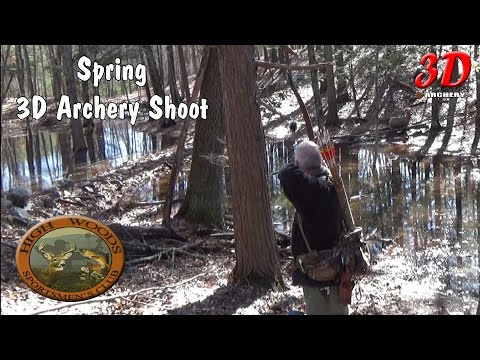 3D Archery - Spring Time shoot