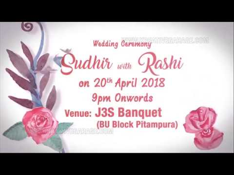 Wedding Invitation for Whatsapp | Kreative Garage Studios | Mumbai, India