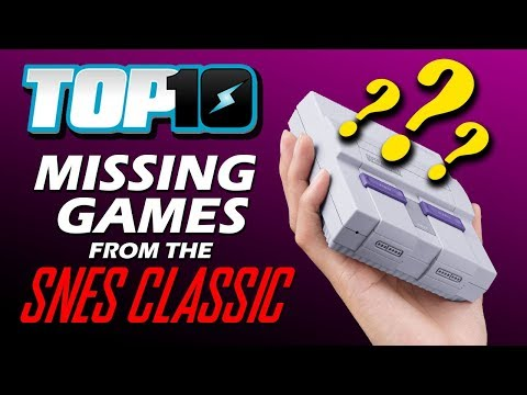 Top 10 Missing Games from the SNES Classic