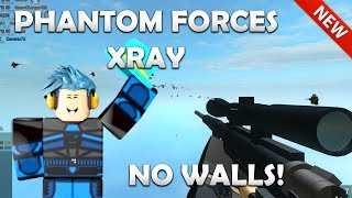 ROBLOX - PHANTOM FORCES XRAY (Working) NOCLIP, SHOOT THROUGH WALLS (4th Jan)