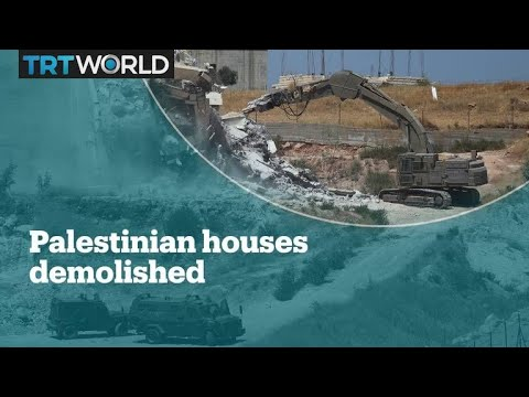 Israeli Soldiers Begin Demolishing Palestinian Homes In E Jerusalem