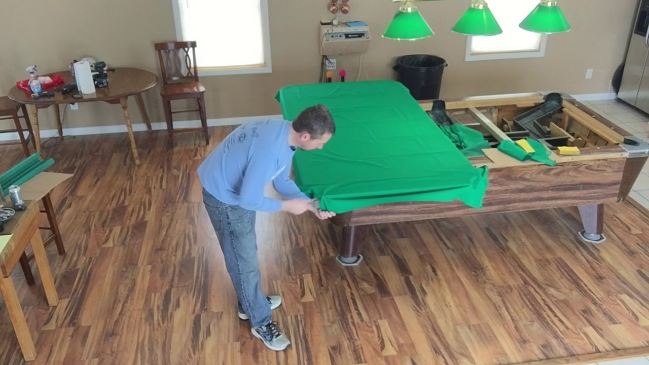 Recover Valley Pool Table