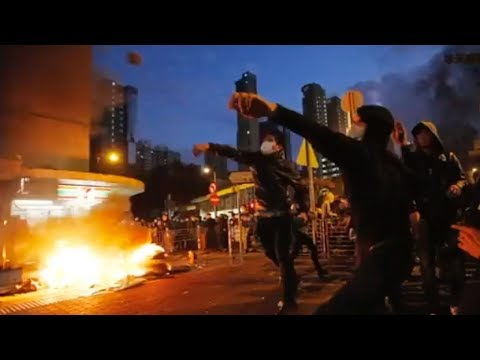 Hey Hong Kong protesters! Chinese mainland rappers have something to say