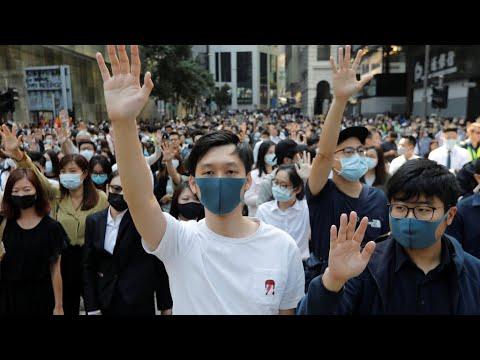 À Hong Kong, la ville paralysée par les manifestants pro démocratie