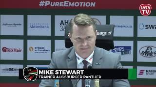 1878 TV | Pressekonferenz 17.02.2019 Augsburg-Straubing 3:2 nV