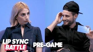 The BFF Challenge w/ 'Younger's' Nico Tortorella & Molly Bernard | Lip Sync Battle Pregame