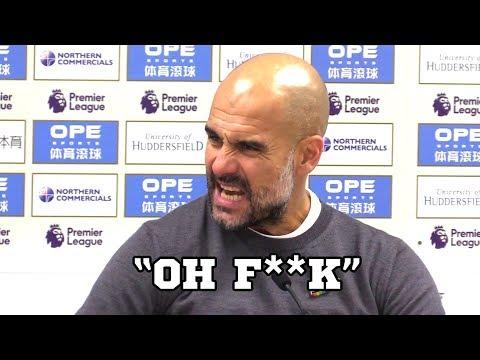 Huddersfield 1-2 Manchester City - Pep Guardiola Post Match Press Conference -Premier League #HUDMCI