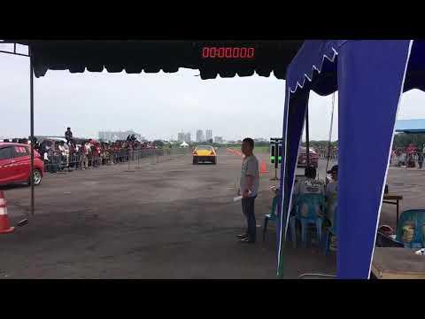 Drag race medan lancer EVO 4/CK 4 bracket 11@lanud soewondo