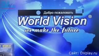 World Vision T60M - обзор DVB-T2 ресивера