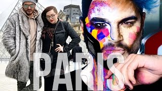 Paris with Make Up For Ever + Jordan Hanz! | Travel Vlog