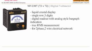 SELEC DIGITAL PANEL METER MV23…