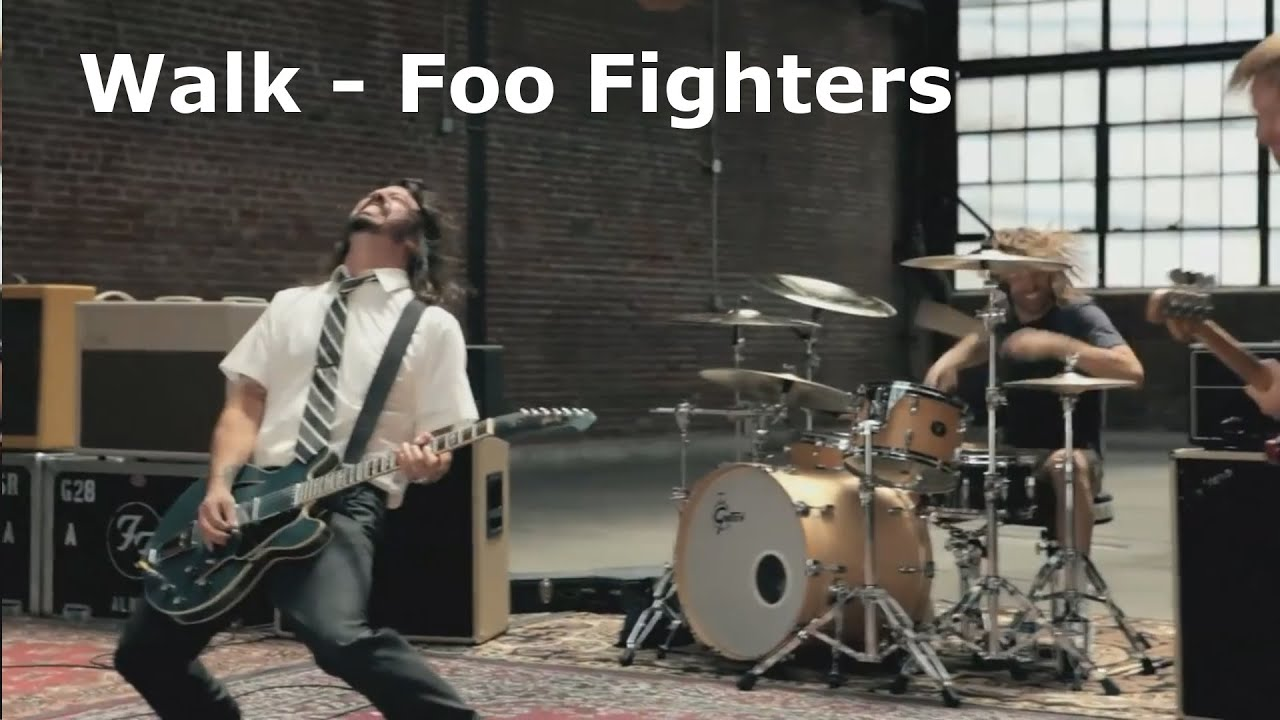 walk foo fighters guitar cover youtube. Black Bedroom Furniture Sets. Home Design Ideas
