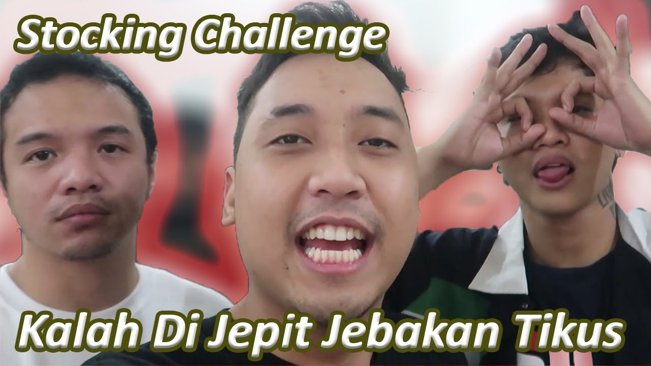 STOCKING CHALLENGE BARENG X CLAN !!! YANG KALAH KENA JEBAKAN TIKUS ( Ericko Lim, Volva, Wirmansyah)