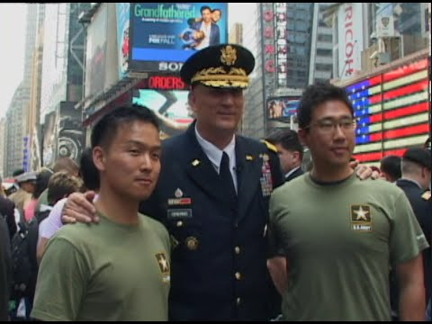 The U.S. Army Celebrates 240th Birthday in New York City on June 12th, 2015