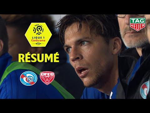 RC Strasbourg Alsace - Dijon FCO ( 3-0 ) - Résumé - (RCSA - DFCO) / 2018-19