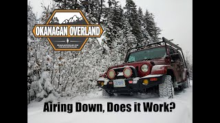 Tuesday Tech Tip - Airing Down In The Snow