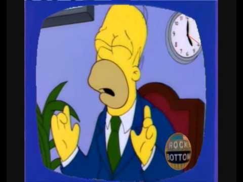How Homer's Rock Bottom Interview Should Have Been