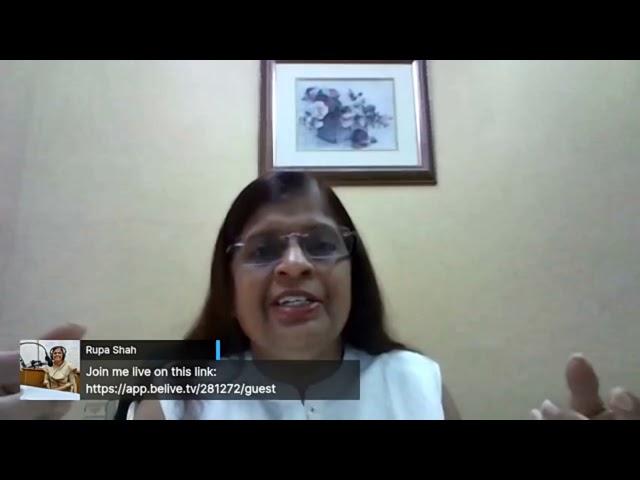 Dr. Rupa Shah on building resistance.