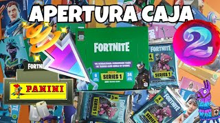 OPENING BOX #2 Trading cards FORTNITE SERIES 1 PANINI