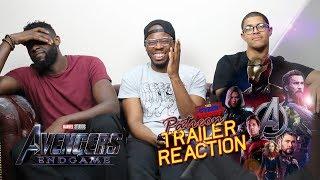 Avengers 4 Endgame Trailer #4 reaction