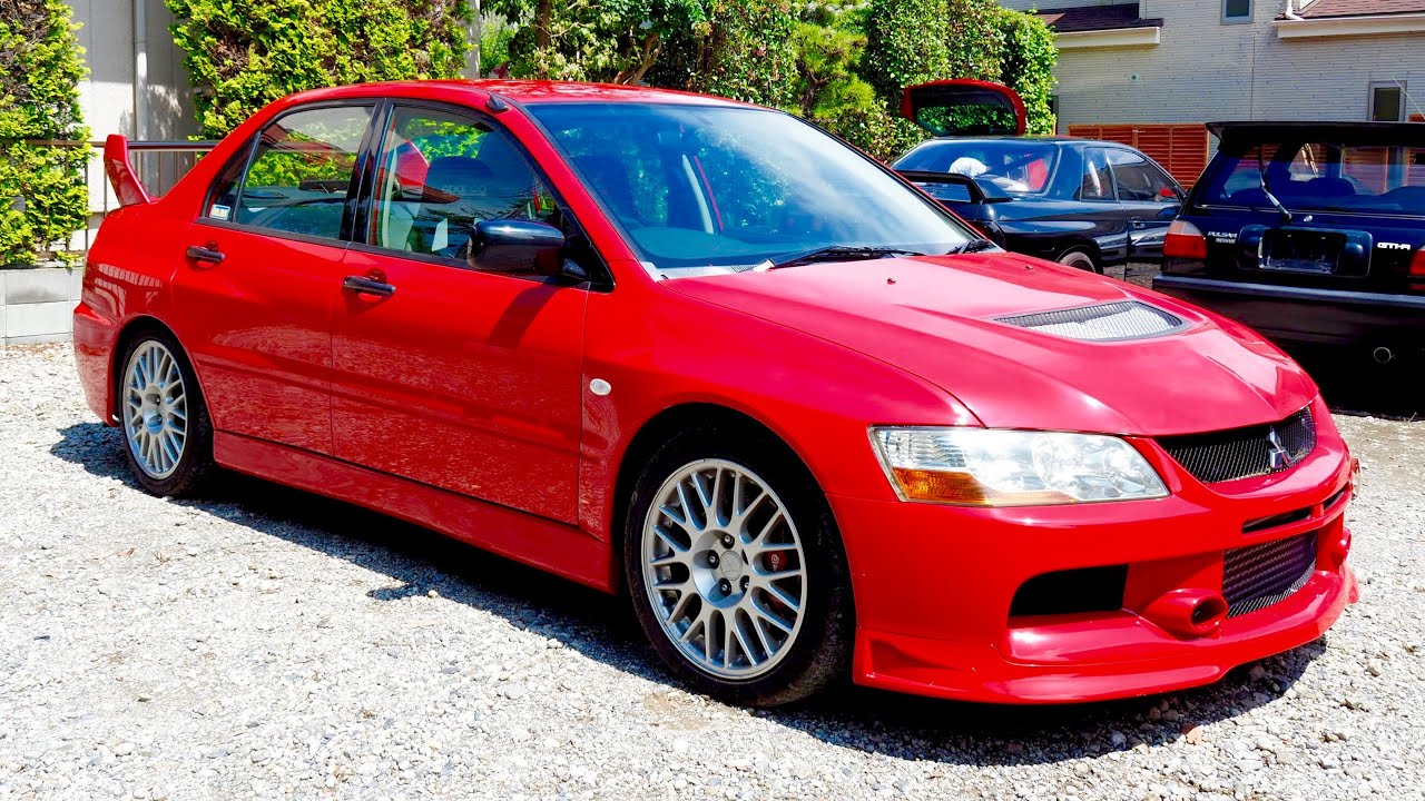 2003 mitsubishi lancer rs evolution 7 italian import auction