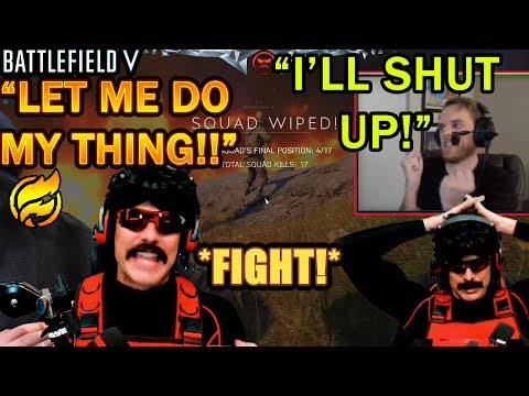 DrDisrespect FIGHTS With HUTCH Over BAD Callouts In BFV Firestorm!   Triple Threat Challenge Duos!