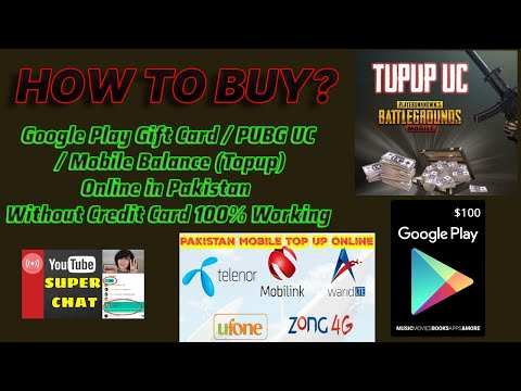 How To Use Google Play Gift Card In Pakistan How to Use