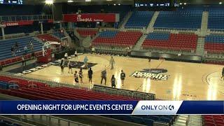 Inside the new UPMC Events Center at Robert Morris University