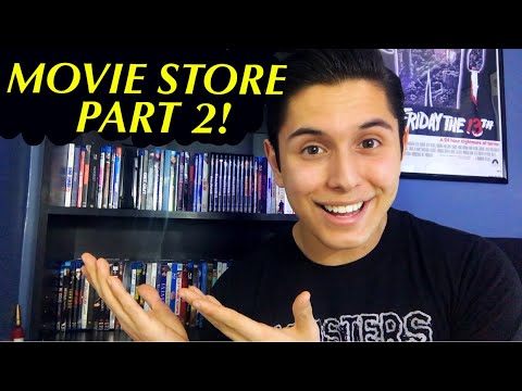 [ASMR] Movie Store Role Play 2! (Movies, Tapping, & More!)