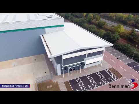 Prologis Kettering DC6 Drone Video