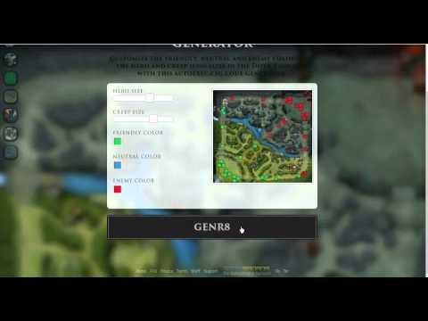 видео: Как изменить мини карту в dota 2 и поставить cfg