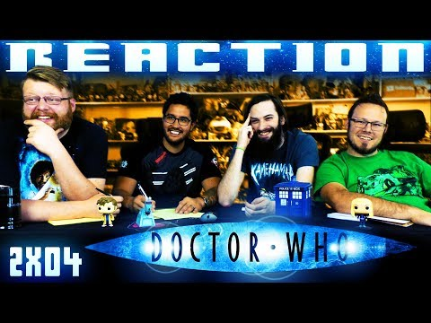 "Doctor Who 2x4 REACTION!! ""The Girl in the Fireplace"""
