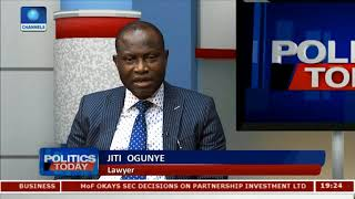 Lawyers Laud CJN's Policy In Tackling Corruption |Politics Today| thumbnail