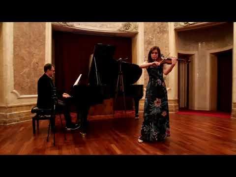 George Enescu - Impromptu concertant (Diana Jipa & Stefan Doniga)