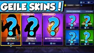 ❌LEVIATHAN & OVERHOLER SKINS in SHOP!! 😱 - NEW OBJECT SHOP in FORTNITE is DA!!