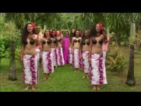 Pacific Island Dancing Girls.