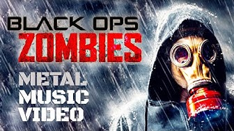 Call of Duty Black Ops Zombies MUSIC VIDEO Damned & Beauty of Annihilation by GMC BAND (18+)